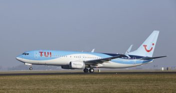 Vliegtuig TUI