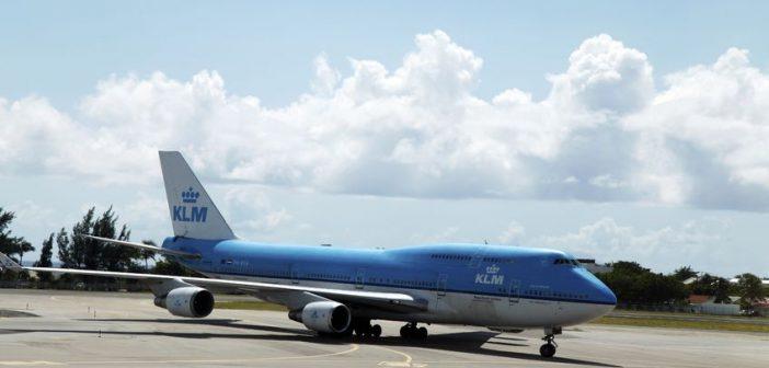 KLM vliegtuig technisch mankement