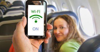 WiFi in het vliegtuig