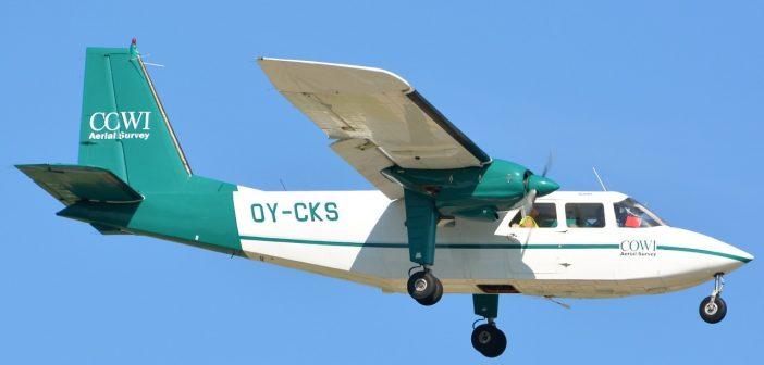 COWI vliegtuig