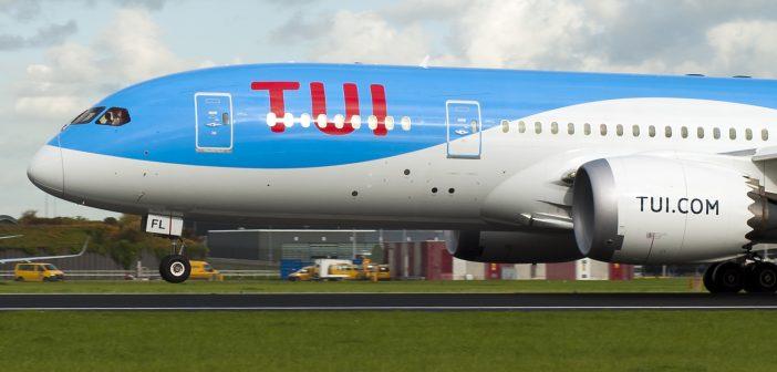 TUI Vliegtuig
