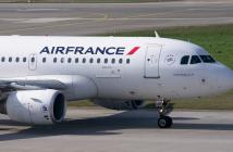 Air France Vliegtuig Volgen